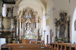 In der Kirche in Drosendorf; © Prof. Peter Brunner